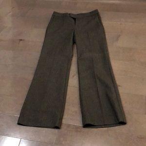 Banana Republic sz 4P black/gray tweed pants.
